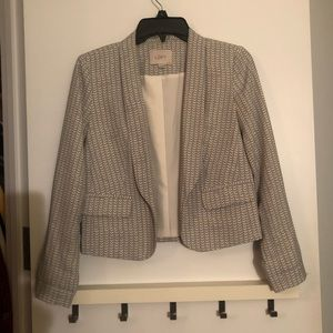 Petite patterned blazer from Loft!